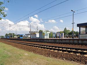 Rembertów - Image: Warszawa Rembertów railway station 2012 (5)