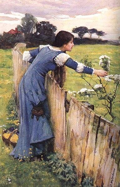 File:Waterhouse, JW - The Flower Picker (1900).jpg
