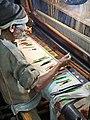 Weaving silk brocade (Varanasi).jpg