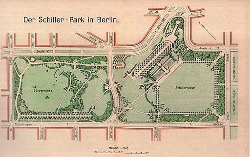 Wedding Schillerpark 1910