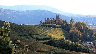 Baden (wine region) - Vineyards in Ortenau, another district of Baden.