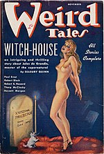 Weird Tales cover image for November 1936