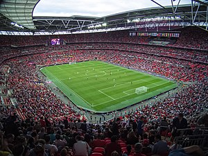 Football at the 2012 Summer Olympics – Men's tournament - Image: Wembley 1