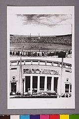 Vista pontualdo Estádio Municipal Paulo Machado de Carvalho (Pacaembu). São Paulo/Sp