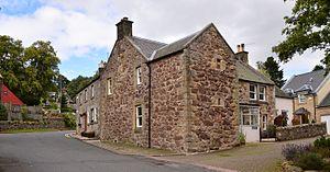 West Linton - West Linton manor house