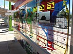 West glass mural at Fairpark station, Aug 15.jpg