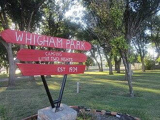 Perryton, Texas - Image: Whigham Park, Perryton, TX IMG 6030