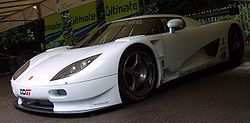 White Koenigsegg CCGT Goodwood 2007.jpg