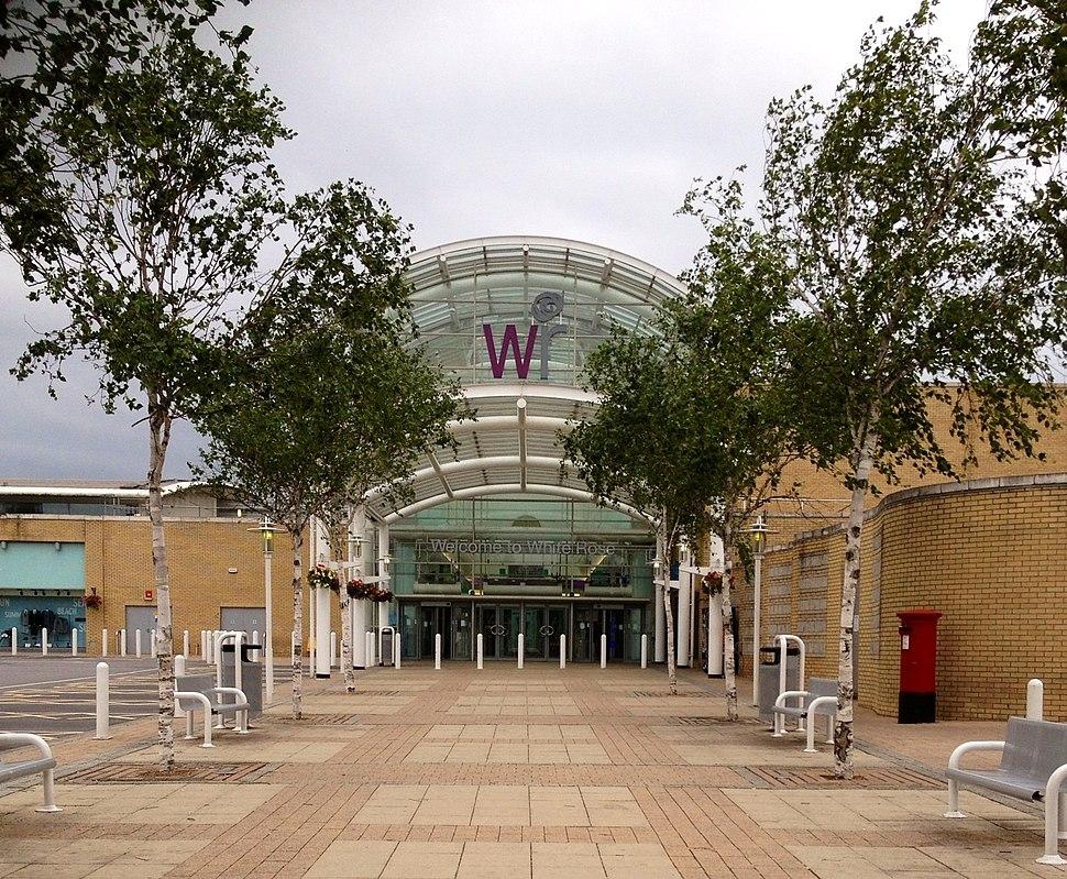 White Rose Shopping Centre entrance
