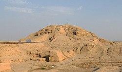 White Temple ziggurat in Uruk.jpg