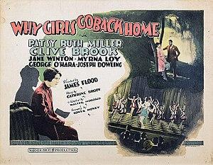 Why Girls Go Back Home - Lobby card