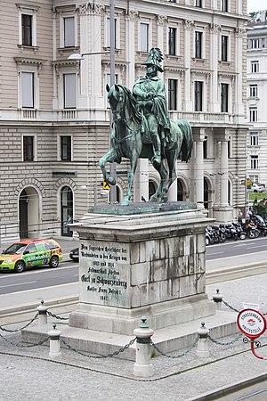 Ernst Julius Hähnel - Image: Wien Schwarzenbergplatz Reiterdenkmal