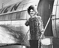 Wien stewardess dressed for the arctic, Point Barrow.jpg