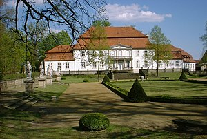 Niederer Fläming - Palace in Wiepersdorf