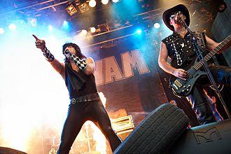 Wig Wam - Wig Wam performing at Byfesten 2010, Lillestrøm, Norway.