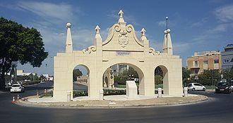 Fleur-de-Lys, Malta - Fleur-de-Lys Gate