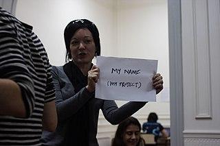 Sue Gardner en WikiWomenCamp
