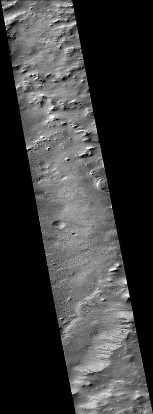 Galle (Martian crater) - Image: Wikigalleeast
