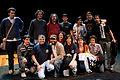 Wikimania 2009 - Richard Stallman en el teatro Alvear con asistentes (5).jpg