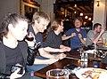 Wikimania 2014 Volunteer Drinks 2014-05-08 04.jpg