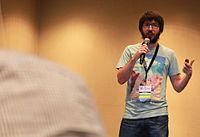 Wikimania 2015 - Joe Sutherland 15.jpg