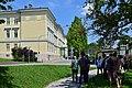 Wikipedianische KulTour Steinhof - Beginn der Führung im Sanatorium.jpg