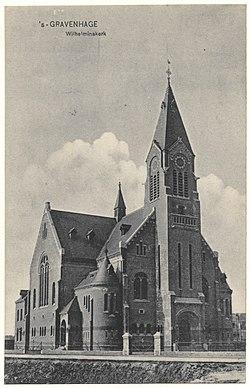 Wilhelminakerk, Den Haag, 1908, kort na de oplevering.jpg