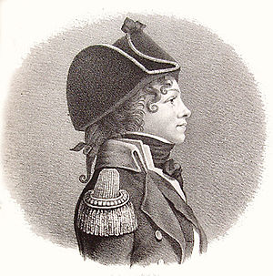 Peter Willemoes - Peter Willemoes depicted by Jacob Rieter (1801)