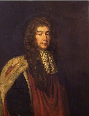 William Croone - Portrait of William Croone, painted by Mary Beale in 1680