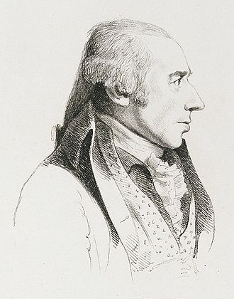 William Hodges - William Hodges, portrait by George Dance the Younger