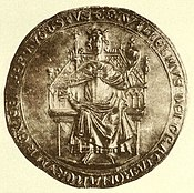 Seal with the image of Wilhelm of Holland