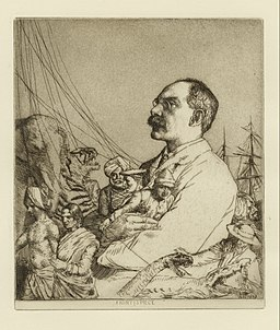 William Strang The author Rudyard Kipling