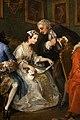 William hogarth, marriage a-la-mode, 1743 ca., 01 la programmazione del matrimonio 3.jpg