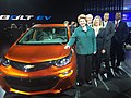 With the all-electric Chevy Bolt at the North American International Auto Show. (24321161405).jpg