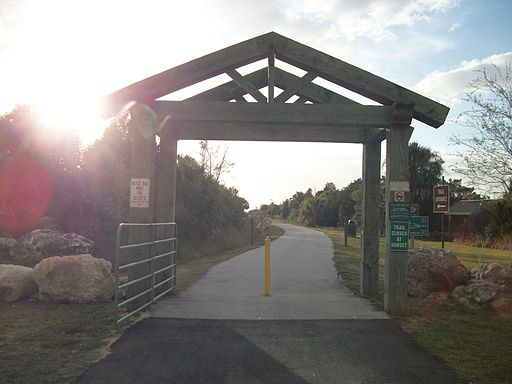 Withlacoochee Bay Trail West Gate