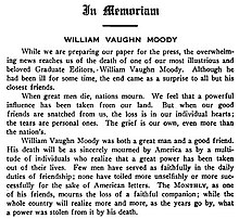 More Books by William Vaughn Moody