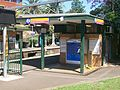 Wollstonecraft railway station entry to platform 2.jpg
