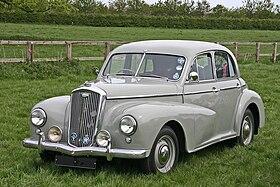 Classic Car Austin Mini  Orange