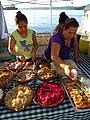 Women Serving Street Food at Waterfront - Flores - Peten - Guatemala (15685397499).jpg
