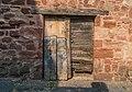 Wooden doors in Clairvaux-d'Aveyron 01.jpg