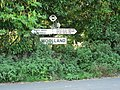 Woolland, finger-post - geograph.org.uk - 973126.jpg