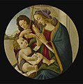 Workshop of Botticelli - THE MADONNA AND CHILD WITH THE YOUNG SAINT JOHN THE BAPTIST, lot.123.jpg