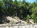 Worlds End State Park landslide.jpg