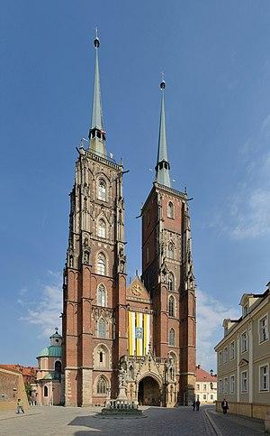 Wrocław Cathedral - Image: Wrocław Archikatedra św. Jana Chrzciciela 1