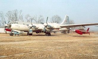 Tupolev Tu-4 - China Aviation Museum, Tupolev Tu-4.