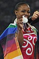 XIX Commonwealth Games-2010 Delhi Jennifer Khwela of South Africa (Silver) (cropped).jpg