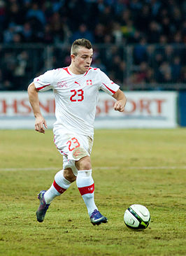 Xherdan Shaqiri - Switzerland vs. Argentina, 29th February 2012.jpg