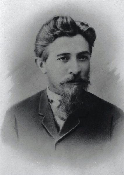 Ya'acov Shertok portrait in 1900