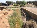 Yacimiento Arqueológico Cancho Ruano - Foso que rodea al yacimiento (lado frontal).jpg