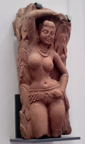 File:Yakshi (sandstone).jpg